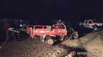 Tacna: dos recicladoras mueren en accidente en la carretera a Tarata - LaRepública.pe