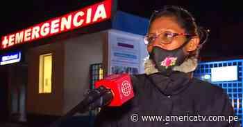 La Oroya: Madre e hija quedaron atrapadas en la carretera - América Televisión