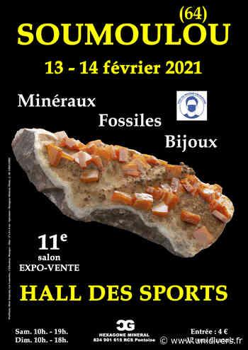 11e SALON MINERAUX FOSSILES BIJOUX de SOUMOULOU (64) Hall des Sports samedi 13 février 2021 - Unidivers