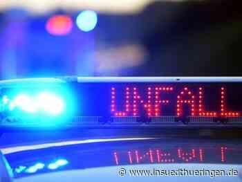 Eisenberg: Sattelzug kracht auf Laster: Lkw-Fahrer schwer verletzt - inSüdthüringen - inSüdthüringen