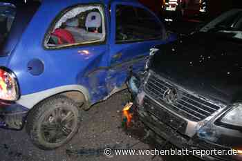 Glanbrücken: Unfall auf B420: Verletztes Kleinkind und Totalschaden - Wochenblatt-Reporter