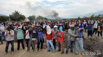 Lambayeque: Trabajadores de empresa agrícola San Juan bloquean carretera en Chongoyape - RPP Noticias