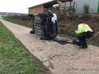 Schwerverletzter bei Unfall in Zaberfeld - Heilbronner Stimme