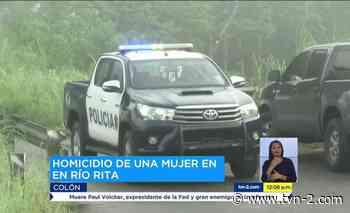 Detención provisional para sospechosos del crimen de una mujer en Río Rita de Colón - TVN Panamá