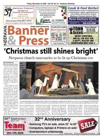 Friday, December 18, 2020 Neepawa Banner & Press - myWestman.ca