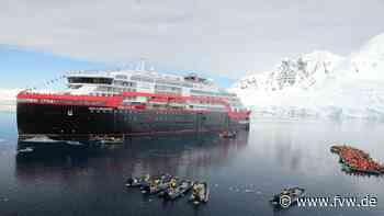 Zeremonie: Die Roald Amundsen wurde in Antarktis getauft - fvw.de