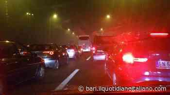 Bari, incidente sulla ss16 all'altezza di Carbonara: delirio in direzione sud - Il Quotidiano Italiano - Bari