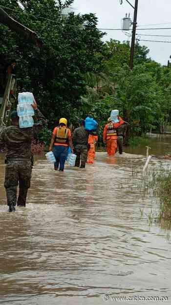 Más de 40 casas afectadas por lluvias en Barú y Alanje - Crítica Panamá