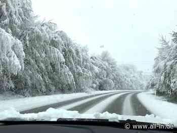 Kontrolle verloren: Schneeglatte Straße: Auto überschlägt sich bei Scheidegg - Scheidegg - all-in.de - Das Allgäu Online!