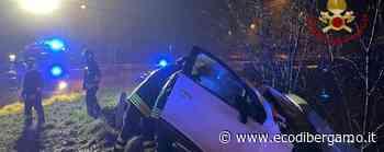 Fuori strada a Romano di Lombardia Lievi ferite per una 53enne - Foto - L'Eco di Bergamo