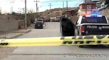Lo ejecutan con al menos seis disparos en Ciudad Juarez - El Tiempo de México
