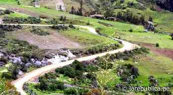 La Libertad: ejecución de la carretera Santiago de Chuco-Mollepata inicia en enero LRND - LaRepública.pe