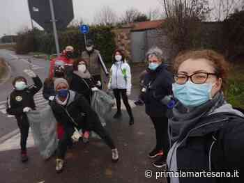 Contro chi inquina è nato Puliamo Cambiago FOTO - Prima la Martesana