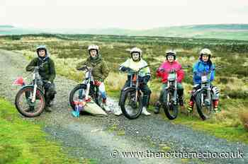 Young trials rider help club prepare for Boxing Day fixture