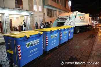 Píllaro moderniza su sistema de recolección de basura - La Hora (Ecuador)