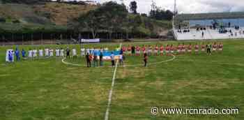 En Chipaque se inauguró el estadio más moderno del oriente de Cundinamarca - RCN Radio