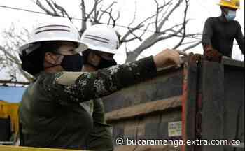 Una mujer de Ráquira comanda tropas que trabajan en reconstrucción de Providencia [VIDEO] - Extra Bucaramanga