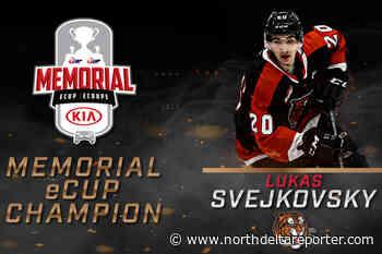 Ex-Vancouver Giant Svejkovsky wins Memorial eCup video game tourney - North Delta Reporter