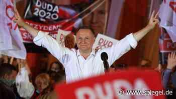 Polen: Andrzej Duda als Präsident wiedergewählt - DER SPIEGEL