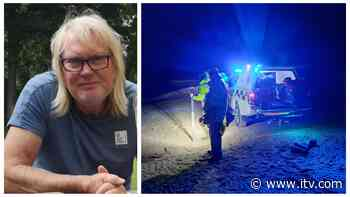 Search continues on the Norfolk coast for missing windsurfer Chris Bamfield - ITV News