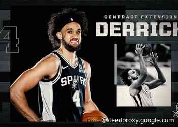 SPURS SIGN DERRICK WHITE TO CONTRACT EXTENSION