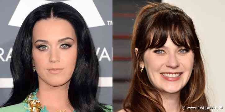 Katy Perry Admits She Used to Pose as Lookalike Zooey Deschanel to Get Into Clubs Before She Was Famous!