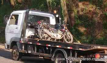 PM recupera moto roubada em Manhumirim - Portal Caparaó