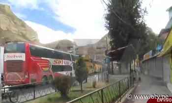 La Oroya: Policía libera vía tomada por manifestantes - ATV.pe