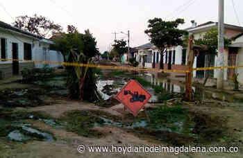 Comunidad denuncia mal estado de las calles en Cerro de San Antonio - Hoy Diario del Magdalena