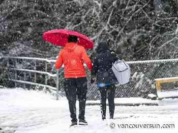 Thousands still without power after winter arrives in B.C. with a wollop