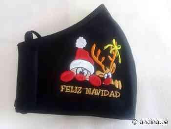 Lambayeque: artesanas de Monsefú innovan con coloridas mascarillas navideñas - Agencia Andina