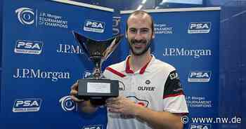 Paderborns Squash-Ass Simon Rösner tritt von internationaler Tour zurück - Neue Westfälische