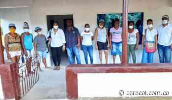 Entregan remodelación del Puesto de Salud en El Níspero en María La Baja - Caracol Radio
