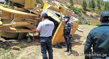 Cargador frontal se despista, aplasta y causa la muerte de un trabajador en Tarma - Diario Correo