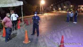 Bloquean las entradas en Arcelia por el aumento de contagios de Covid-19 - El Sur Acapulco suracapulco I Noticias Acapulco Guerrero - El Sur de Acapulco
