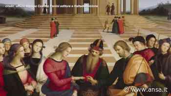 """A Citta' di Castello il clone dello """"Sposalizio della Vergine"""" di Raffaello - Spettacolo - Agenzia ANSA"""