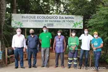 Parque ecológico no Bairro Nova Esperança é inaugurado em Piumhi - G1