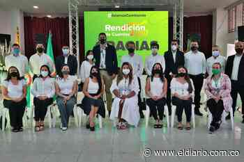 Alcalde de Santa Rosa de Cabal rindió cuentas a la ciudadanía - El Diario de Otún