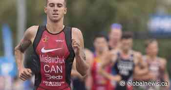 With Olympics approaching, Oak Bluff's Tyler Mislawchuk still going strong over a year since last triathlon - Global News