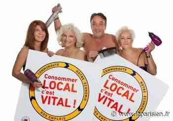 Sucy-en-Brie : après une année difficile, les commerçants se mettent à nu dans un calendrier - Le Parisien