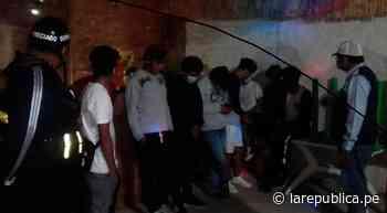 Lambayeque: intervienen a ciudadanos y clausuran bares clandestinos en Jayanca LRND - LaRepública.pe