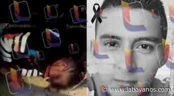 VIDEO: Joven falleció en fatal accidente en Isnos - Laboyanos.com