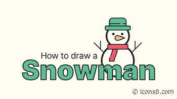 How to Draw a Snowman in Adobe Illustrator: Video Process