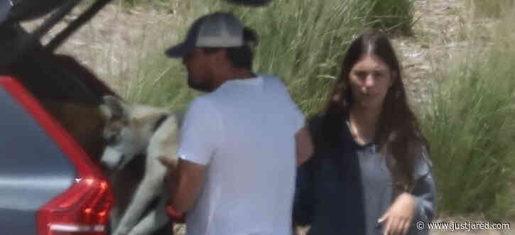 Leonardo DiCaprio & Girlfriend Camila Morrone Spend the Day at the Park with Their Dogs
