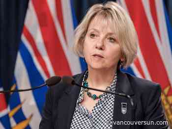 COVID-19: Second wave has peaked, B.C. health officials say, announcing 518 new cases