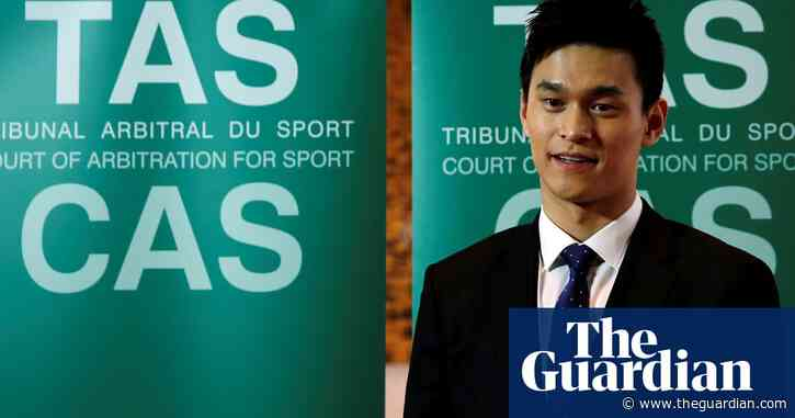 Sun Yang's doping ban referred back to Cas after Chinese swimmer's appeal