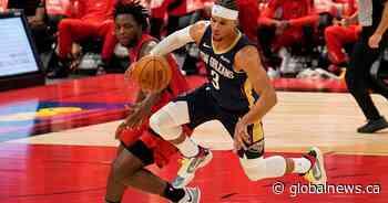 Toronto Raptors lose 1st season opener in 8 years after 113-99 loss to New Orleans Pelicans