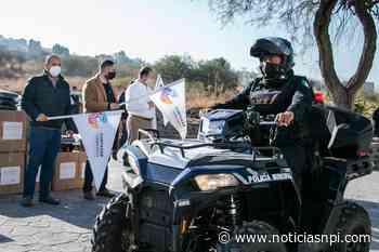 Entregan equipamiento a elementos de Seguridad Pública en Cortazar - Noticias NPI