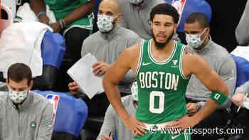 Jayson Tatum banks in wild, game-winning 3-pointer to lift Celtics over Bucks in opening night thriller