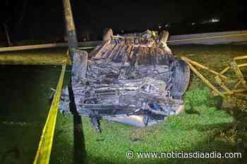 Tres heridos deja accidente de tránsito en Puerto Salgar, Cundinamarca - Noticias Día a Día
